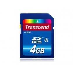 Transcend 4GB SDHC (Class 10) (Premium) paměťová karta TS4GSDHC10