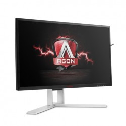"AOC AG271QX 27""W LED 2560x1440 50 000 000:1 1ms 350cd HDMI DP DVI repro"