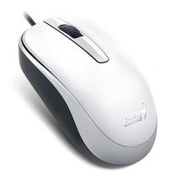 Genius myš DX-120/ drátová/ 1200 dpi/ USB/ bílá 31010105102