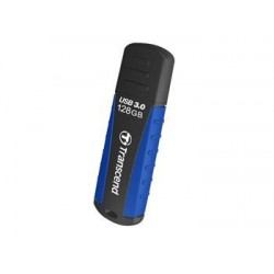 Transcend 128GB JetFlash 810 USB 3.0 flash disk, černo/modrý, odolá...