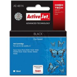 ActiveJet Ink cartridge Eps T0481 R200/R300 BK - 17 ml AE-481 EXPACJAEP0055