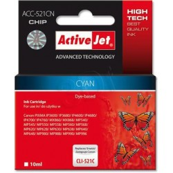 ActiveJet Ink cartridge Canon CLI-521C (WITH CHIP) ACC-521C EXPACJACA0081