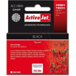 ActiveJet Ink cartridge Canon PGI-5 Bk WITH CHIP - 26 ml ACC-5Bk EXPACJACA0073