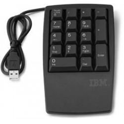 Lenovo klávesnice numerický blok USB 17-Key Stealth Black 33L3225