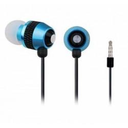 Sluchátka GEMBIRD MHS-EP-002 pro MP3, kovová s mikrofonem SLU052241