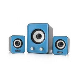 Modecom reproduktory Logic LS-20, 2.1, 11W RMS, USB, modré G-Y-0LS20-BLU-2
