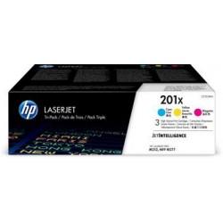 HP 201X 3-pack High Yield Cyan/Magenta/Yellow Original LaserJet...