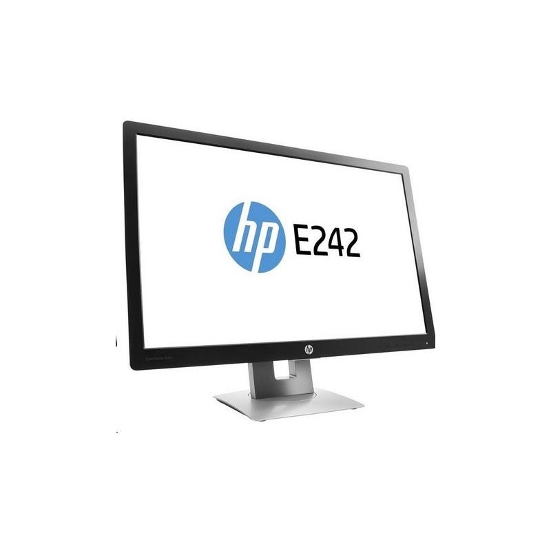 HP EliteDisplay E242, 24 IPS/LED, 1920x1200, 1000:1, 7ms, 250cd, VGA/DP/HDMI, USB, PIVOT M1P02AA#ABB