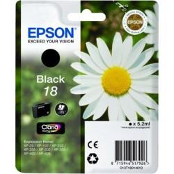 EPSON cartridge T1801 black (sedmikráska) C13T18014012