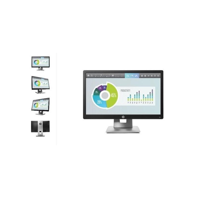 HP EliteDisplay E202, 20 IPS, 1600x900 HD+, 1000:1, 7ms, 250cd, VGA, DVI, DP, USB, PIVOT, 3y M1F41AA#ABB