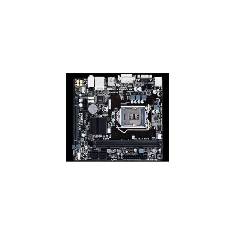 GIGABYTE MB Sc LGA1151 GA-H110M-S2V, Intel H110, 2xDDR4, VGA, DVI, mATX