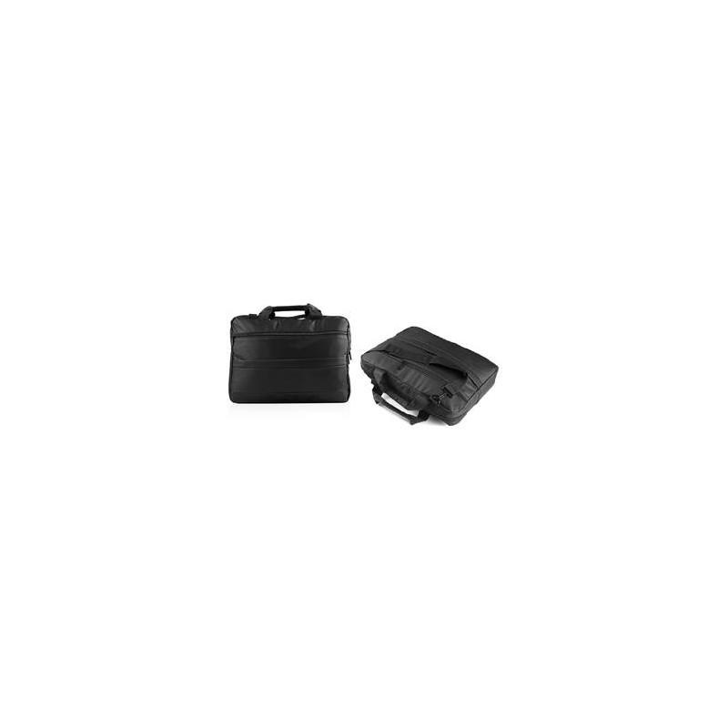 """Modecom Logic brašna BASE 15 pro notebooky do velikosti 15,6"""", 3 kapsy, černá TOR-LC-BASE-15-BLACK"""