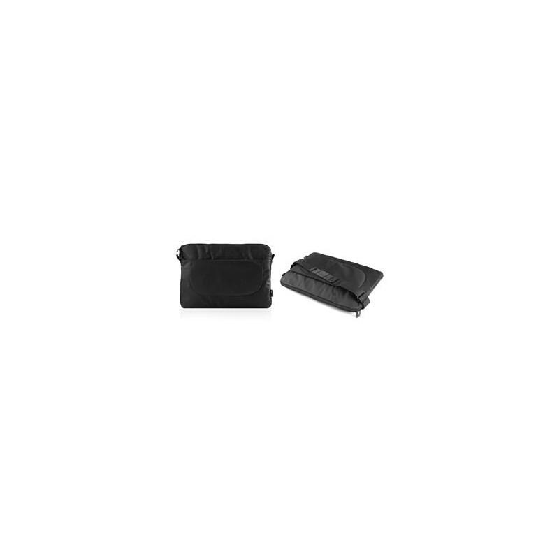 """Modecom Logic obal BASE 15 pro notebooky do velikosti 15,6"""", 2 kapsy, černý FUT-LC-BASE-15-BLACK"""