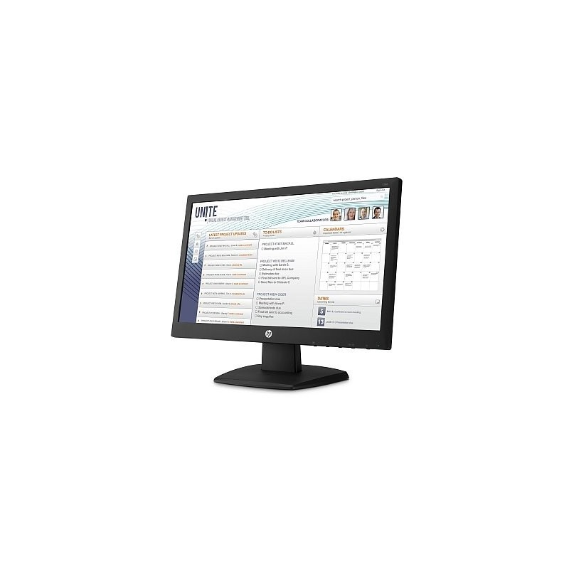 HP V197, 18.5, TN/LED, 1366x768 HD, 600:1, 5ms, 250cd, VGA, DVI-D, 1y V5J61AA#ABB