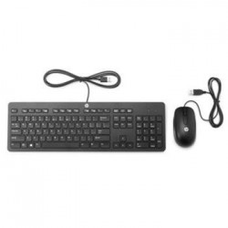 HP Slim USB klávesnice a myš - černá T6T83AA#AKB