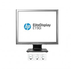 HP EliteDisplay E190i, 18,9 IPS, 1280x1024, 1000:1, 8ms, 250cd, VGA, DVI, DP, USB, PIVOT, 3y E4U30AA#ABB