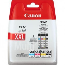Canon cartridge INK CLI-581XXL C/M/Y/BK MULTI BL 1998C005