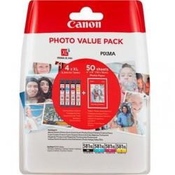Canon cartridge INK CLI-581XL BK/C/M/Y PHOTO VALUE BL  2052C004