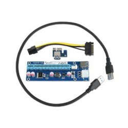 !! AKCE !! GEMBIRD PCI-Express riser add-on card KAB051C2R