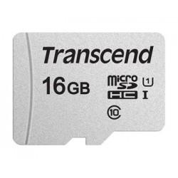 Transcend 16GB microSDHC 300S UHS-I U1 (Class 10) paměťová karta...
