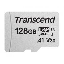 Transcend 128GB microSDXC 300S UHS-I U3 V30 A1 (Class 10) paměťová...