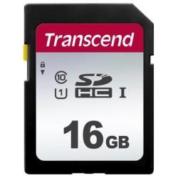 Transcend 16GB SDHC 300S (Class 10) UHS-I U1 paměťová karta TS16GSDC300S