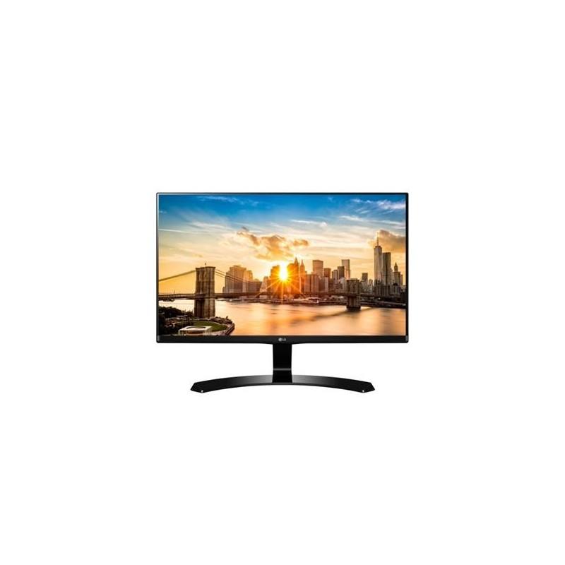 """LG 27MP68HM-P 27""""W IPS panel 1920x1080 5ms 10 000 000:1 250cd 2xHDMI repro čierny 27MP68HM-P.AEU"""