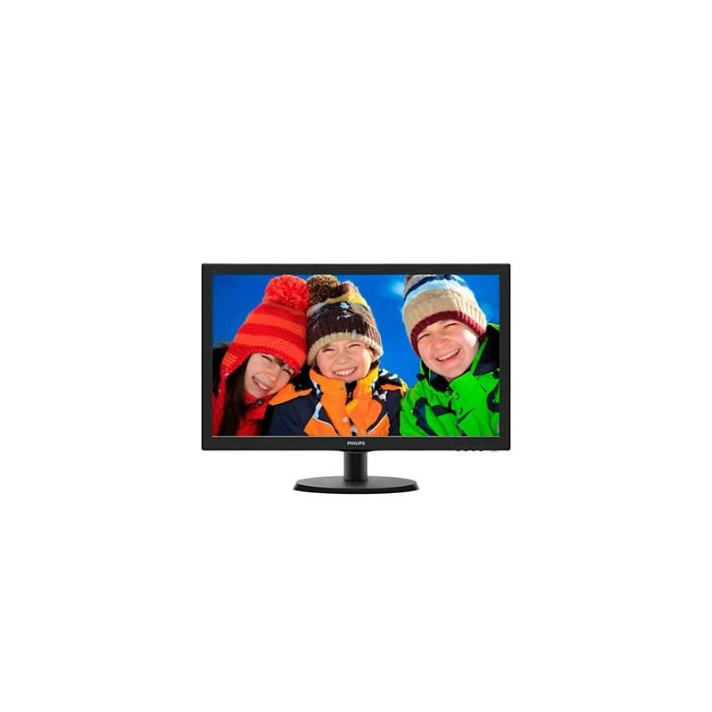 "Philips 223V5LSB/00 21,5"" LED 1920x1080 10 000 000:1 5ms 250cd DVI cierny"