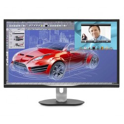 "Philips BDM3270QP/00 32"" AMVA LED 2560x1440 50M:1 5ms 300cd HDMI DVI DP Pivot repro cierny"