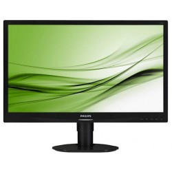 "Philips 241S4LCB/00 24"" LED 1920x1080 20 000 000:1 5ms 250cd DVI cierny"