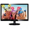 "Philips 226V4LAB/00 21,5"" LED 1920x1080 10 000 000:1 5ms 250cd DVI repro cierny"
