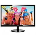 "Philips 246V5LSB/00 24"" LED 1920x1080 10 000 000:1 5ms 250cd DVI cierny"