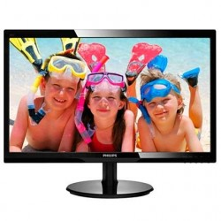 "Philips 246V5LSB/00 24"" LED 1920x1080 10 000 000:1 5ms 250cd DVI..."