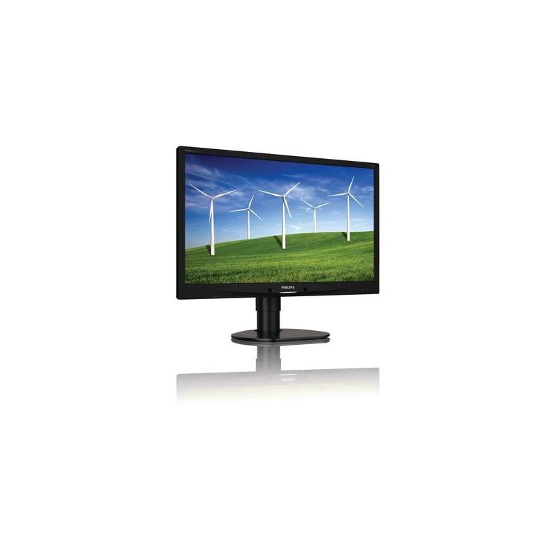 "Philips 241B4LPYCB/00 24"" LED 1920x1080 20 000 000:1 5ms 250cd DP DVI USB repro PIVOT cierny"