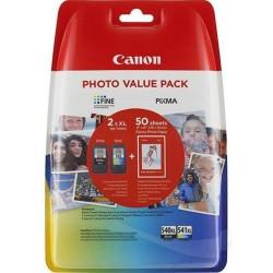 kazeta CANON PG-540 XL black + CL-541 XL color MG2150/3150 + GP501...