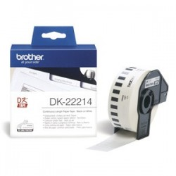 rolka BROTHER DK22214 Continuous Paper Tape (Biela 12mm)