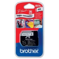 páska BROTHER MK221BZ čierne písmo, biela páska Tape (9mm)
