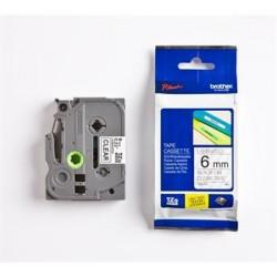 páska BROTHER TZ111 čierne písmo, transparentná páska Tape (6mm) TZE111