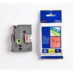 páska BROTHER TZ421 čierne písmo, červená páska Tape (9mm) TZE421