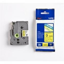 páska BROTHER TZ621 čierne písmo, žltá páska Tape (9mm) TZE621