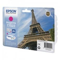 kazeta EPSON WorkForce WP4000,WP4500 magenta XL 2.000 strán C13T702340