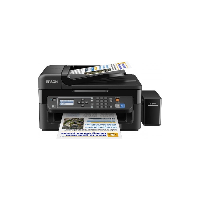 Epson L565, A4, color All-in- One, Fax, ADF, USB, LAN, iPrint C11CE53401