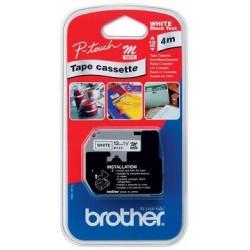 páska BROTHER MK231BZ čierne písmo, biela páska Tape (12mm)