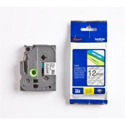 páska BROTHER TZ131 čierne písmo, transparentná páska Tape (12mm) TZE131