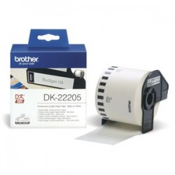 rolka BROTHER DK22205 Continuous Paper Tape (Biela 62mm)
