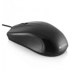 Myš Modecom optická Logic LM12 1000 dpi , USB, čierna M-LC-LM12