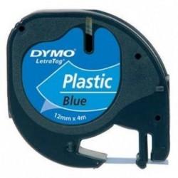 páska DYMO 59426 LetraTag Blue Plastic Tape (12mm) S0721700/S0721600