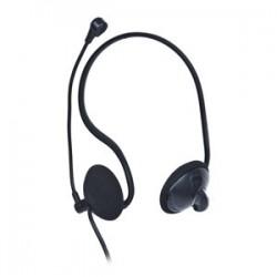slúchadlá s mikrofónom GEMBIRD - čierne MHS-108-B