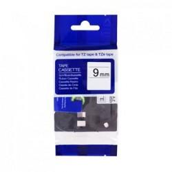 Kompatibilná páska BROTHER TZ221 čierne písmo, biela páska Tape (9mm) ECO-TZE-221