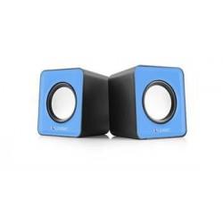 Reproduktory Modecom Logic 2.0 LS-09 2x 3W BLUE modré G-Y-0LS09-BLU-2